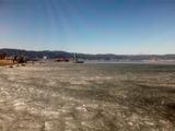 朝の諏訪湖3