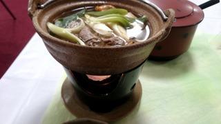 愛山の夕食2