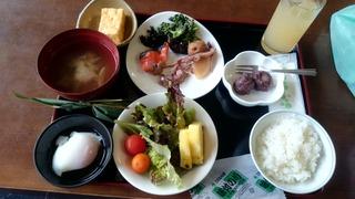 蔦温泉朝食
