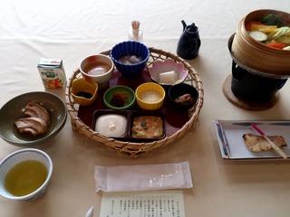 ひさご荘の朝食