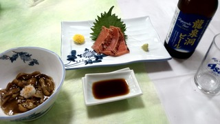 愛山の夕食1