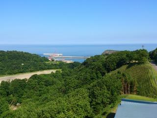 ホテル知床からの風景