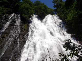 オシンコシンの滝4