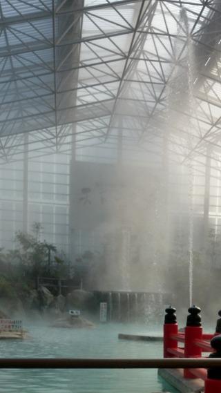 霧島ホテル硫黄谷庭園大浴場5