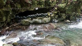 七滝温泉ホテル洞窟風呂6