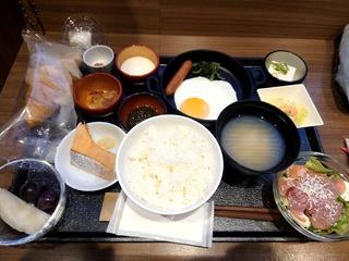 ドーミーイン熊本朝食1