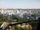 掛川城からの景色1