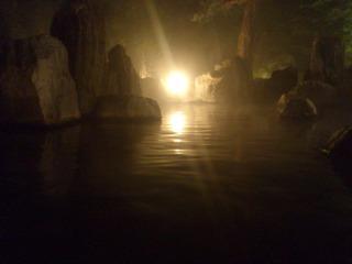 庭園露天風呂鹿泉の湯1