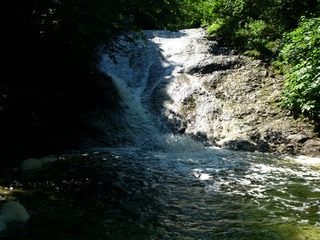 カムイワッカ湯の滝8