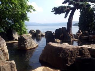 庭園露天風呂鹿泉の湯7