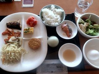 鶴雅ウィングスの朝食