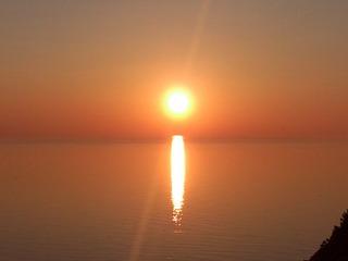 知床の夕陽4