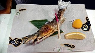 白船グランドホテルの夕食5