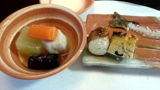 蔦温泉の夕食4