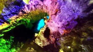 龍泉洞の地底湖5