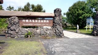 桜島溶岩なぎさ公園1