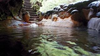 七滝温泉ホテル洞窟風呂4