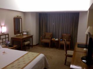 ユエハイ酒店の部屋1