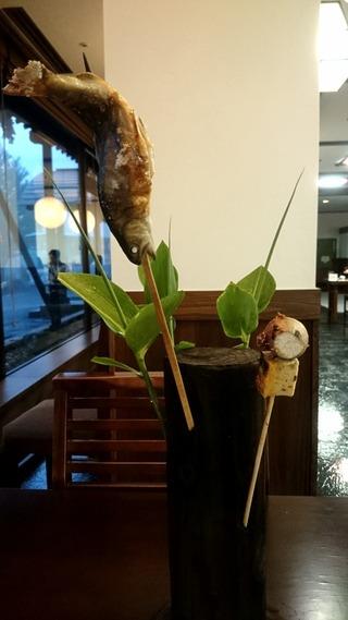蔦温泉の夕食2