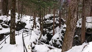 白骨温泉噴湯丘1
