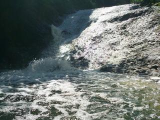 カムイワッカ湯の滝6