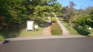 日本一の枕木階段1