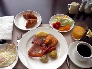 メトロポリスの朝食