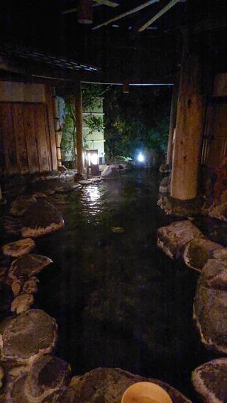 七滝温泉ホテル小露天3
