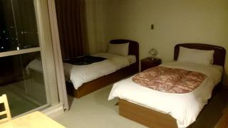 農園ホテルの部屋1