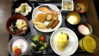ドーミーイン鹿児島の朝食