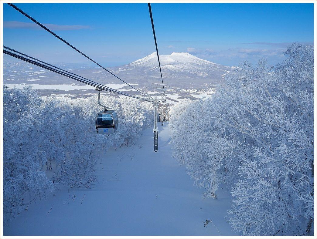 スキーには最高の日和