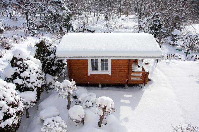 一気に40cmの積雪