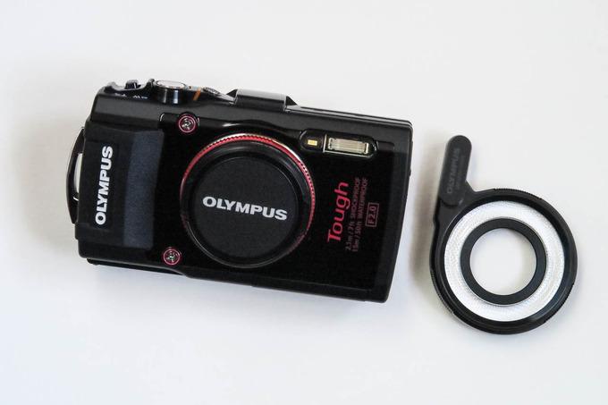 新しいカメラTG-4 仲間入り