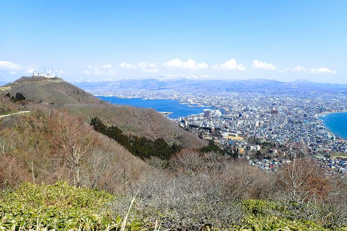 春の陽気に誘われてのんびりと函館山を一周
