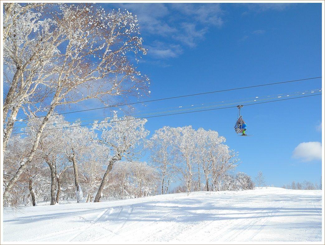 春スキーのような一日