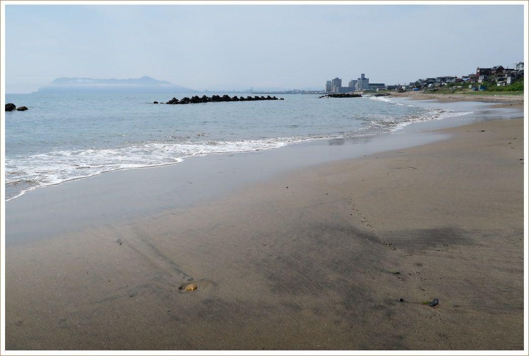 ちょっと寄り道、根崎の海岸