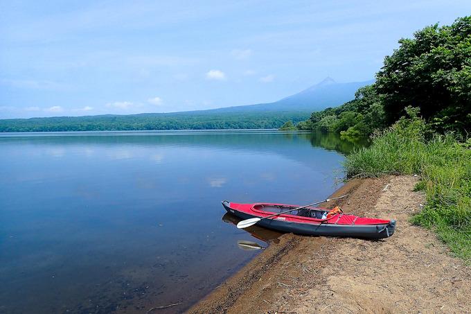ひっそりと静かな夏の大沼