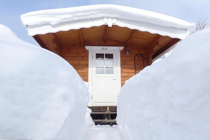 毎日が雪かき筋トレ