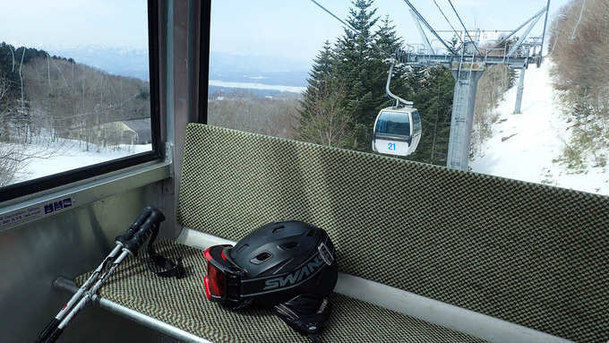 まさに春スキー