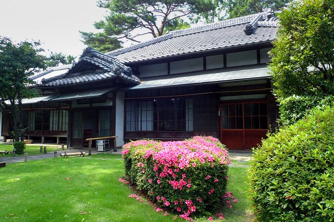 『江戸東京たてもの園』センターゾーン