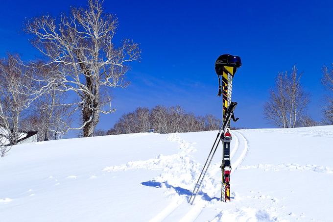 気持ち良過ぎ・・・春スキー