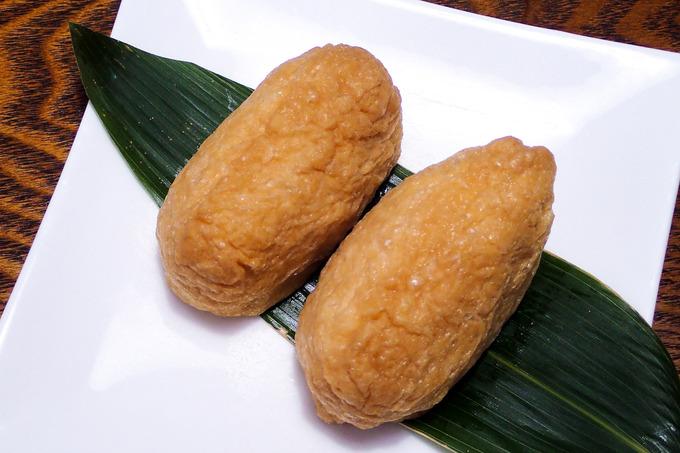 佐々木豆腐店の小揚でお稲荷さんを
