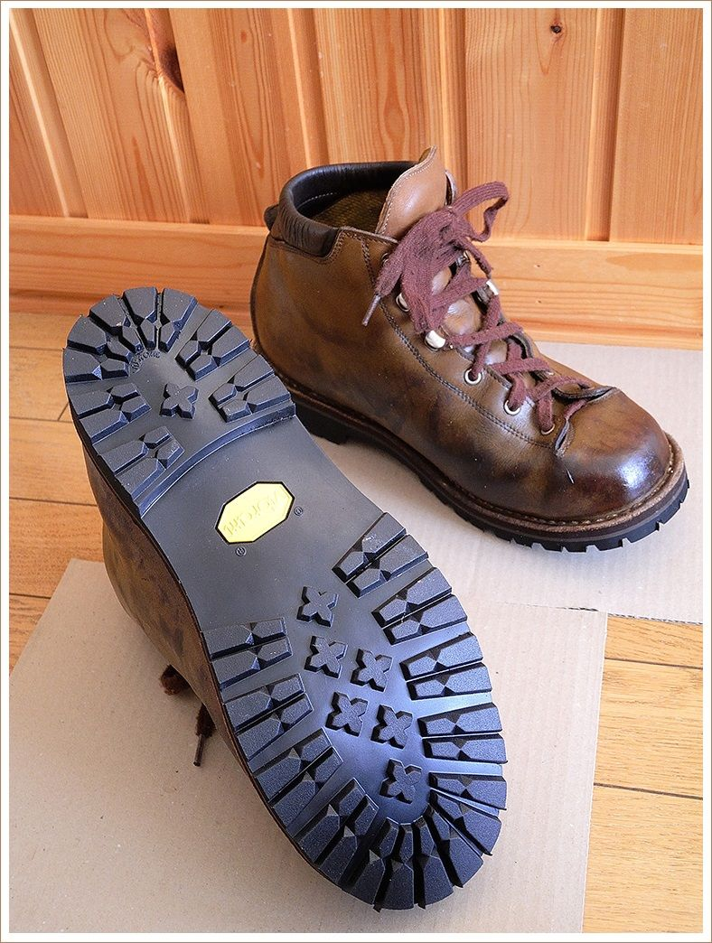 蘇ったゴローの登山靴