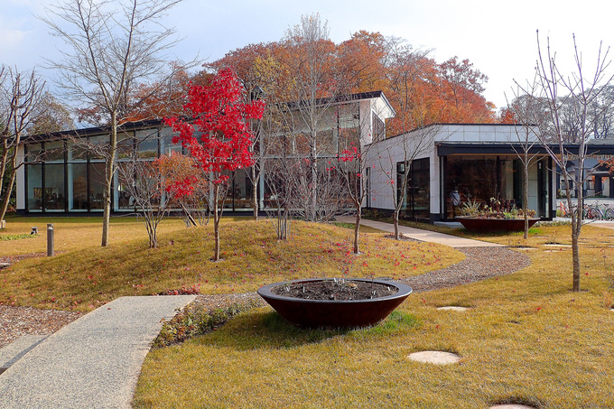 紅葉に彩られたエプイ