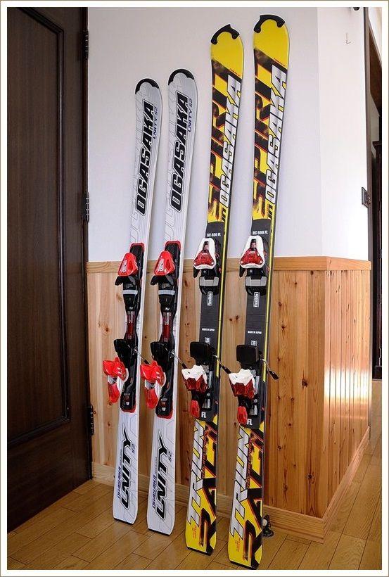 新しいスキー