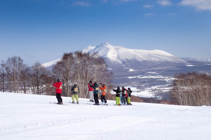 スキーは準備体操から
