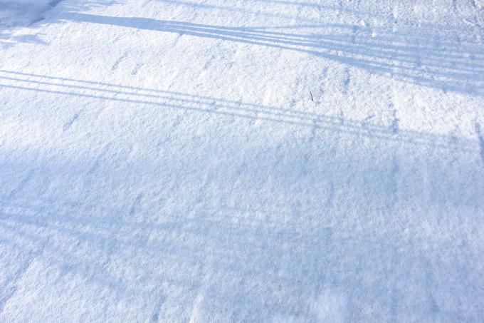 スキーヤーへのクリスマス・プレゼントを期待して