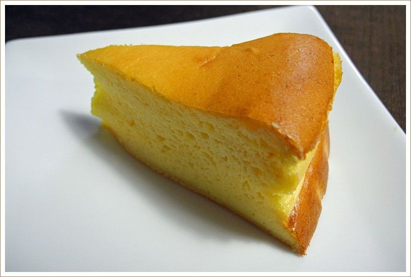 リベンジの「スフレチーズケーキ」