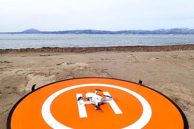 七重浜海岸 with ドローン