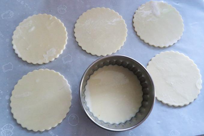 プチサイズのアップルパイを作ってみました